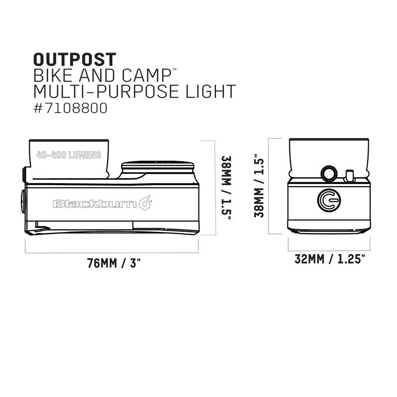 Outpost Bike and Camp Light