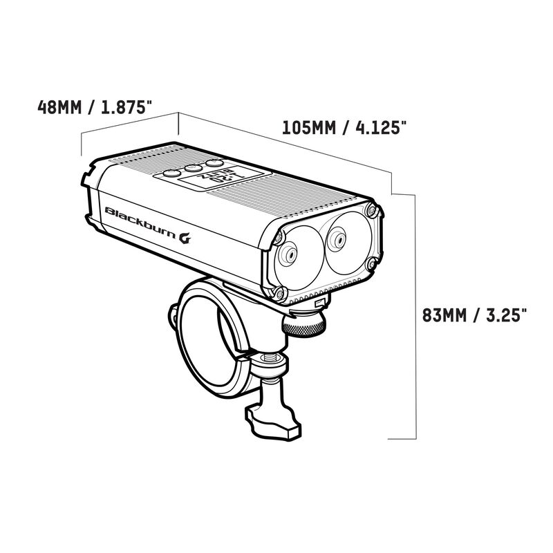 Countdown 1600 Front Light