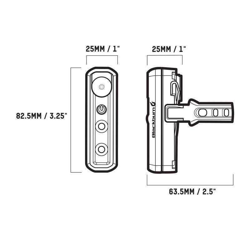 2''Fer-XL Front or Rear Light Set