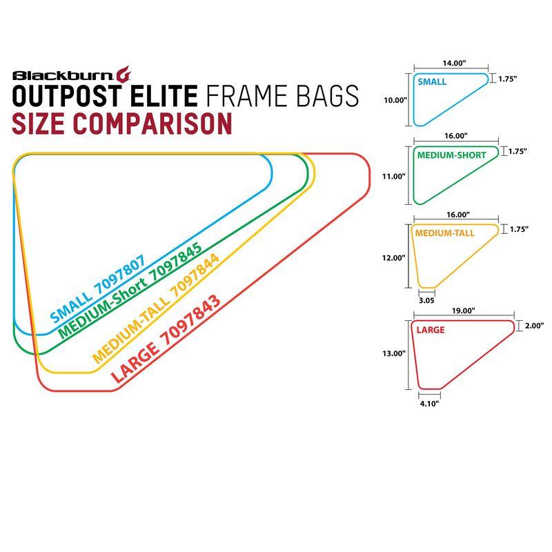 Outpost Elite Frame Bag Small