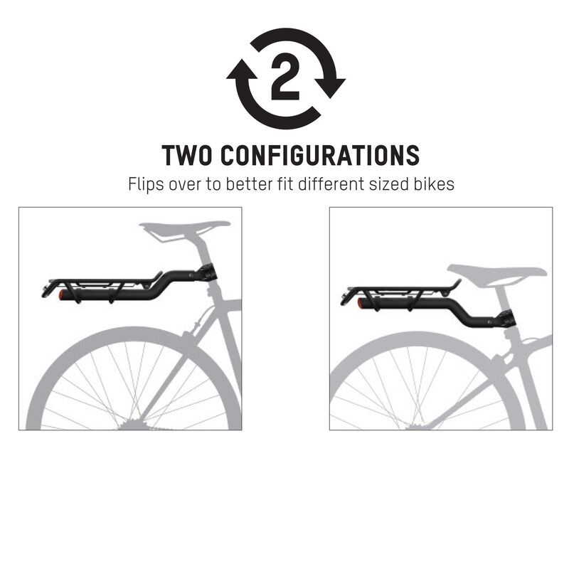 Central Seatpost Rear Rack