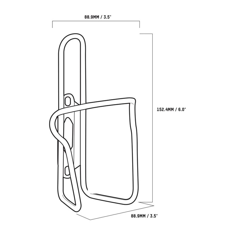 Chicane Stainless Steel Bottle Cage